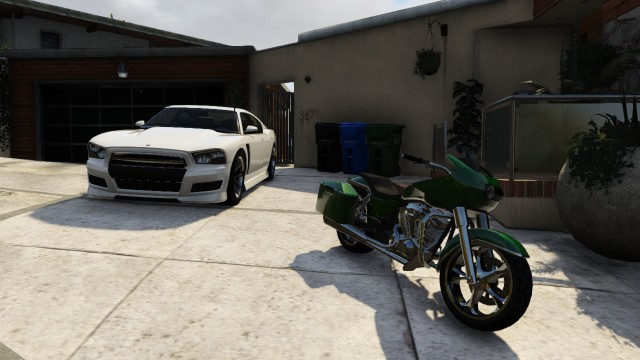 Western Bagger - Grand Theft Auto 5