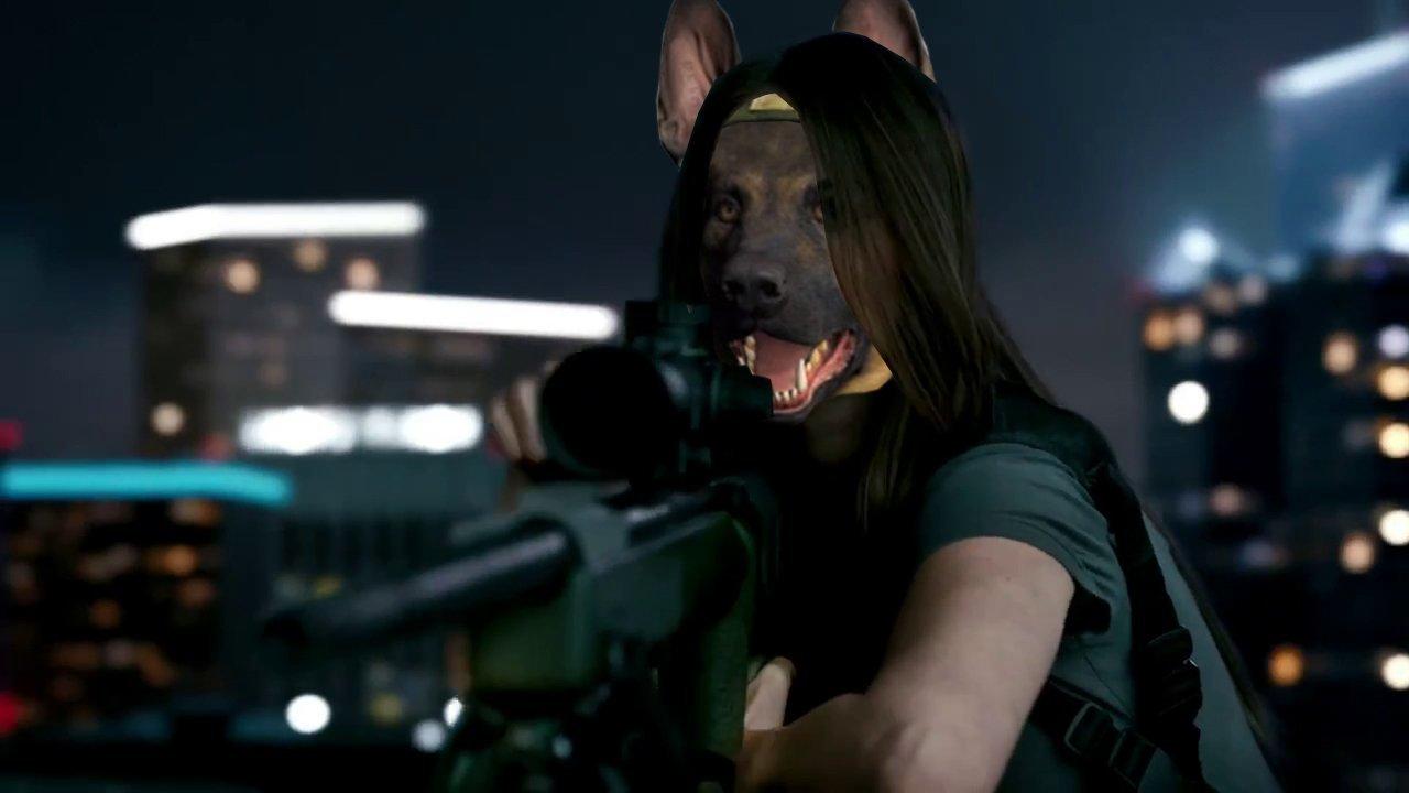 Меган Догс - Call of Duty: Ghosts собака