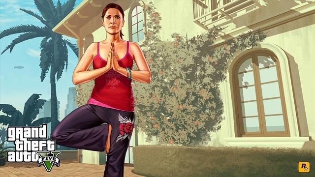 Новый арт - Grand Theft Auto 5 Amanda, Michael