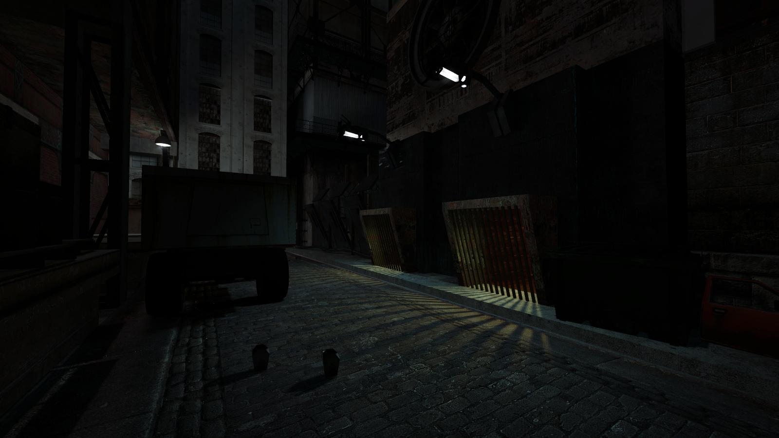 Графон теней в Source. До сих пор отлично даже для 2013-го. - Half-Life 2 Dark_Interval_Mod