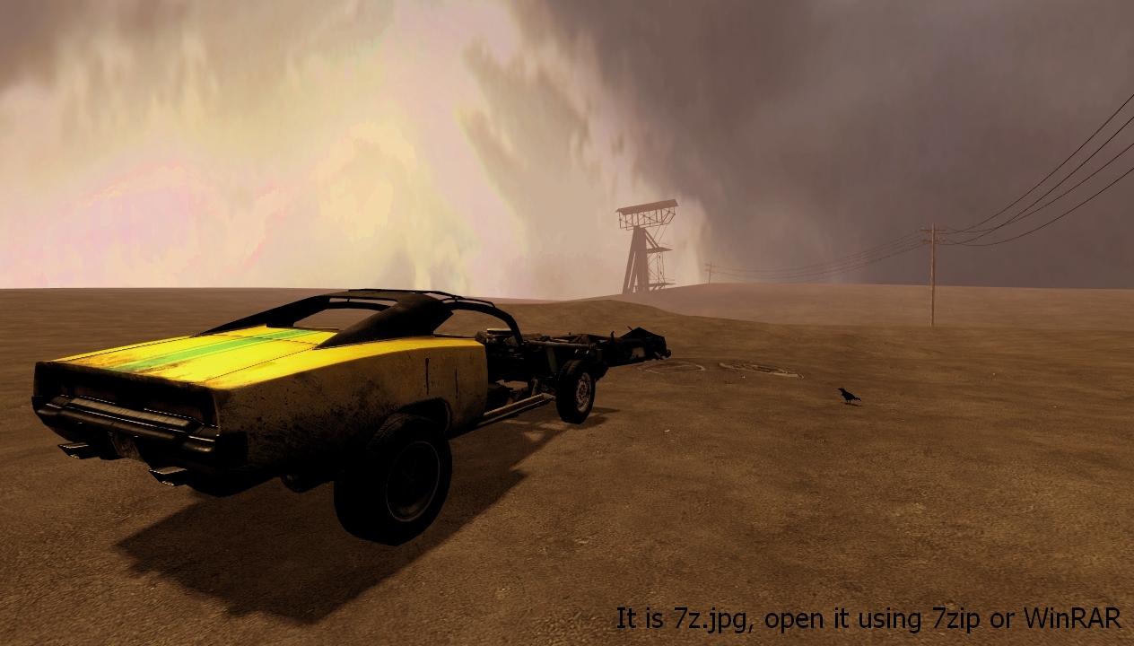 Скринпак со скриншотами, сейвом и шаблоном цветокоррекции - Half-Life 2 screenpack, Раж