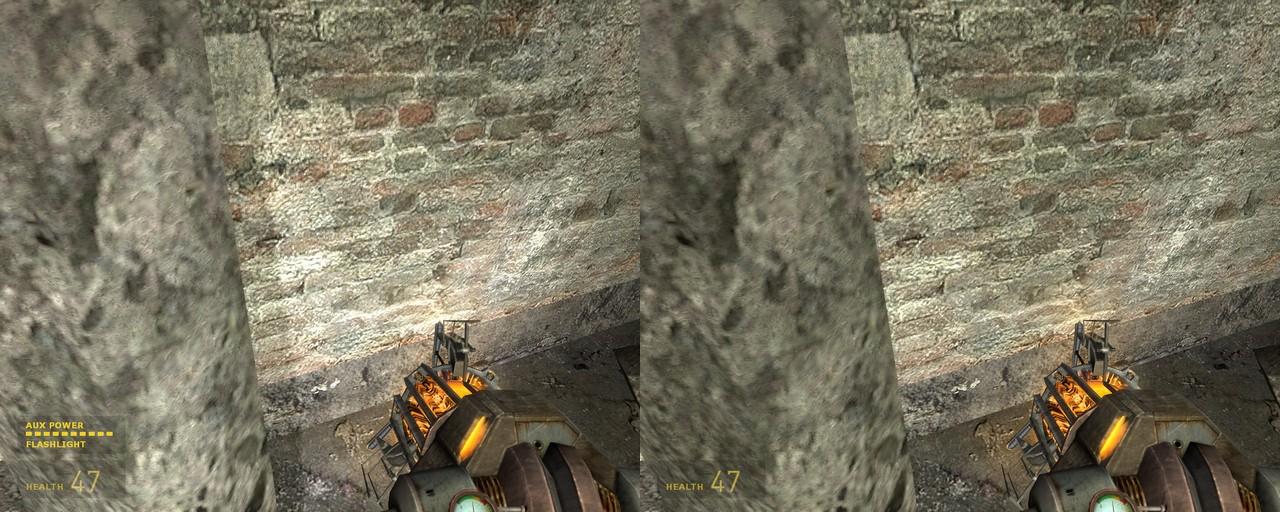 Динамические тени в Эп1 - Half-Life 2 динамические тени, фонарик, Эп1