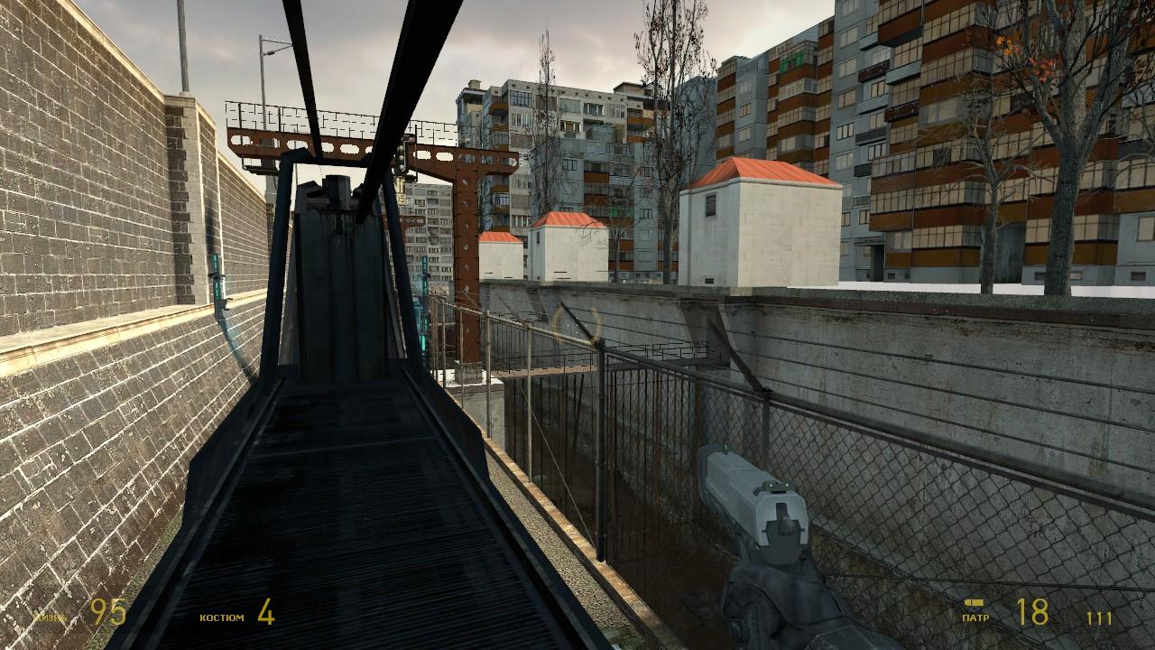 d1_canals01 Train solution - Half-Life 2