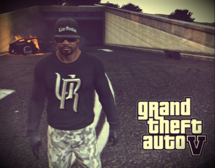 Франклин - Grand Theft Auto 5 Франклин