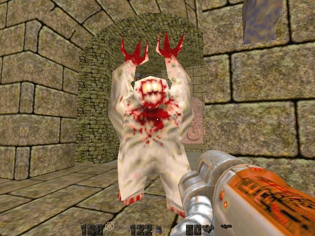Shambler become in Quake2