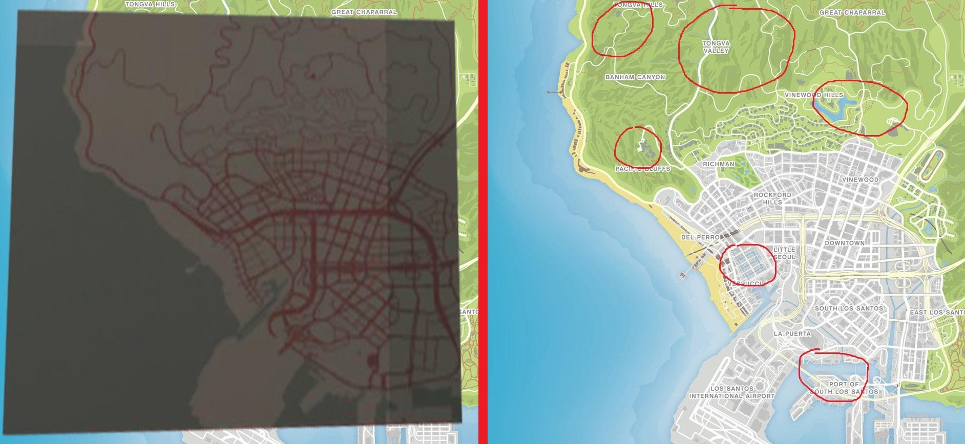pre map - Grand Theft Auto 5 альфа, бла-бла и т.д. и т.п.
