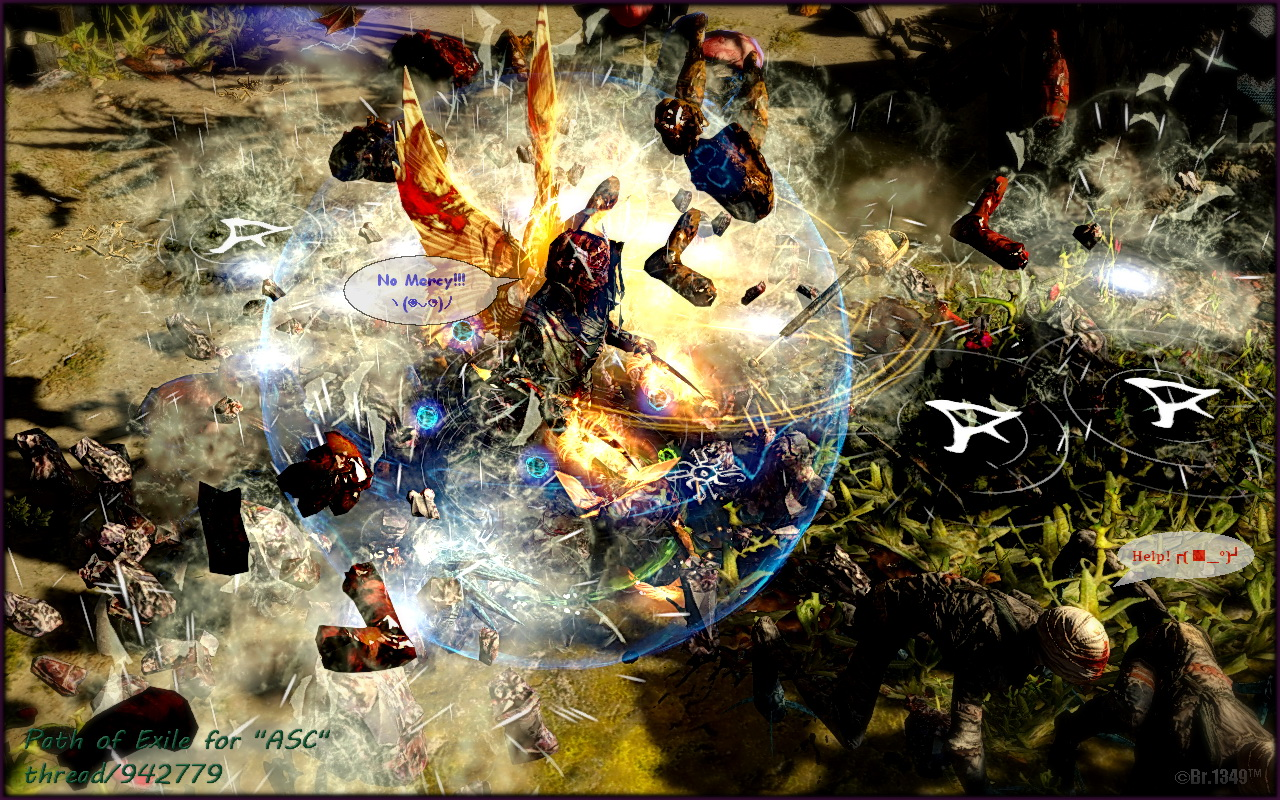 by ©Br.1349™ - Path of Exile Dual Claw, GGG, Online RPG, PoE, Scion