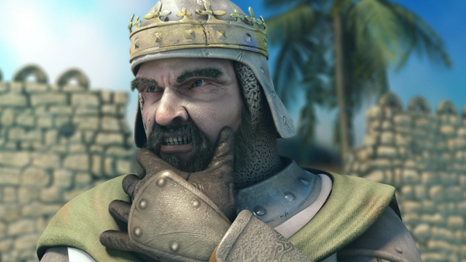 Richard_02.png - Stronghold Crusader 2 арт