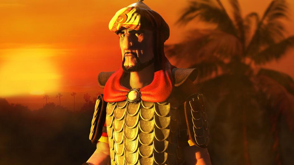 Saladin_01.png - Stronghold Crusader 2 арт