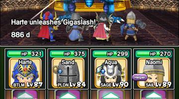 Скриншот Dragon Quest of the Stars