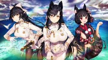 Скриншот Azur Lane: Crosswave