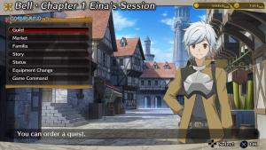 миниатюра скриншота Is It Wrong to Try to Pick Up Girls in a Dungeon? Infinite Combate