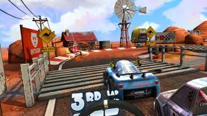 миниатюра скриншота Mini Motor Racing X