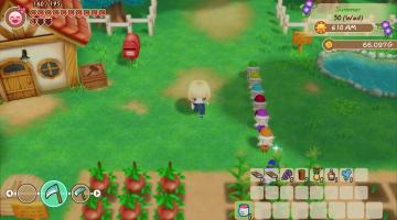 Скриншот Story of Seasons: Friends of Mineral Town