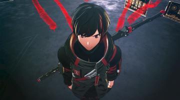 Скриншот Scarlet Nexus