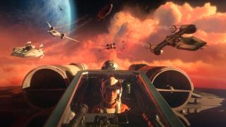Скриншоты  игры Star Wars: Squadrons