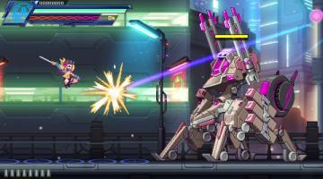 Скриншот Azure Striker Gunvolt 3