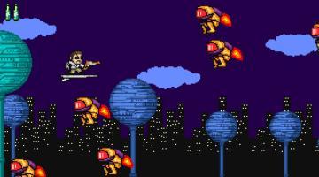 Скриншот Angry Video Game Nerd Adventures