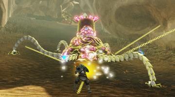 Скриншот Hyrule Warriors: Age of Calamity