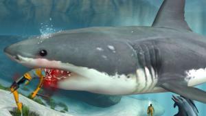 миниатюра скриншота Jaws Unleashed