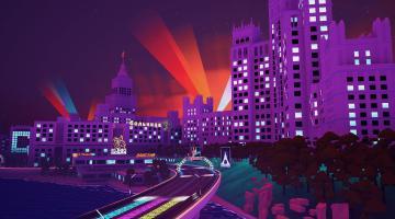 Скриншот Electro Ride: The Neon Racing