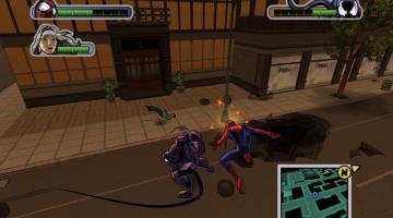Скриншот Ultimate Spider-Man