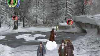 Скриншоты  игры Chronicles of Narnia: The Lion, The Witch and The Wardrobe, the