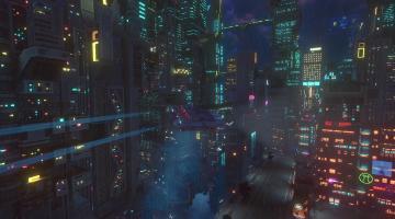 Скриншот Cloudpunk