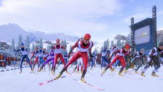 Скриншоты  игры Wintersport Pro 2006