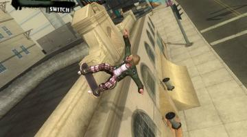 Скриншот Tony Hawk's American Wasteland
