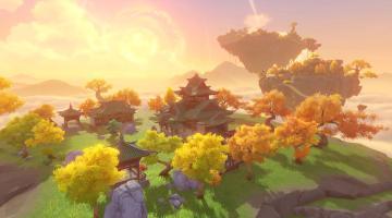 Скриншот Genshin Impact