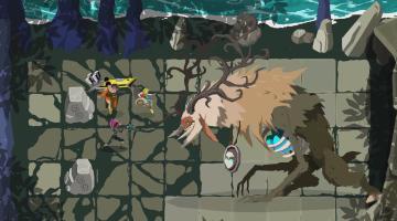 Скриншот Grid Force - Mask Of The Goddess