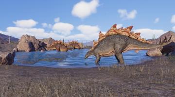 Скриншот Jurassic World Evolution 2