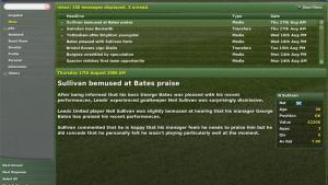 миниатюра скриншота Football Manager 2007
