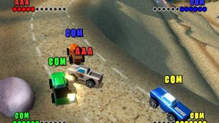 Скриншот Micro Machines V4