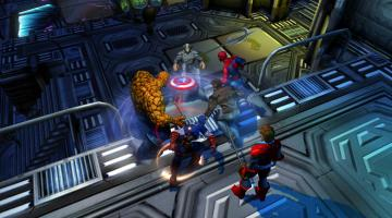 Скриншот Marvel: Ultimate Alliance