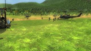 Скриншоты  игры Whirlwind over Vietnam