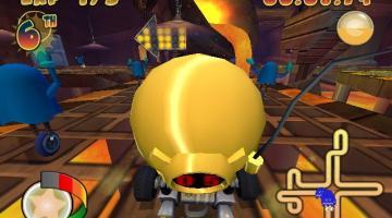 Скриншот Pac-Man World Rally