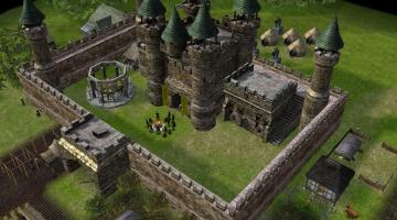 Скриншот Stronghold Legends
