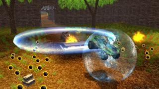 Скриншоты  игры HyperBall Racing