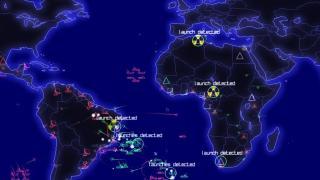 Скриншоты  игры Defcon