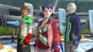Скриншоты  игры Phantasy Star Universe