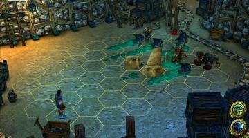 Скриншот King's Bounty: The Legend
