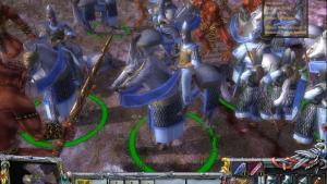 миниатюра скриншота Warhammer: Mark of Chaos