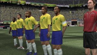 Скриншоты  игры Pro Evolution Soccer 6