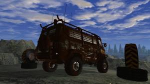 миниатюра скриншота All-wheel drive: UAZ 4x4