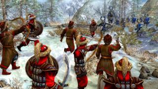 Скриншоты  игры Golden Horde, the