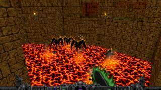 Скриншоты  игры Hexen: Beyond Heretic