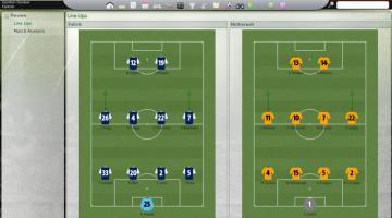 Скриншот Football Manager 2008