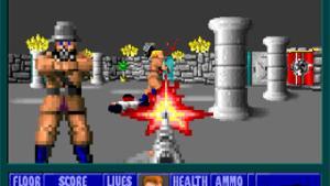 миниатюра скриншота Wolfenstein 3D: Spear of Destiny